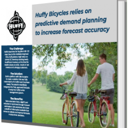 Huffy Bicycles relies on predictive demand planning to increase forecast accuracy