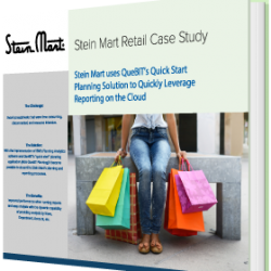 Stein Mart uses QueBIT's Quick Start Planning Solution to Rapidly Leverage Reporting on the Cloud